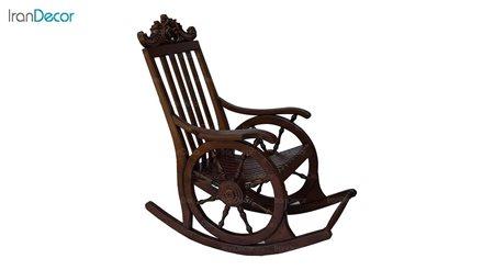 تصویر صندلی راک آمازون چوب مدل ارابه ای