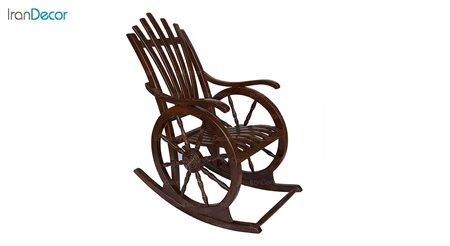 تصویر صندلی راک آمازون چوب مدل ملوانی