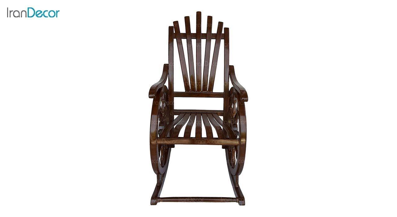 عکس صندلی راک آمازون چوب مدل ملوانی