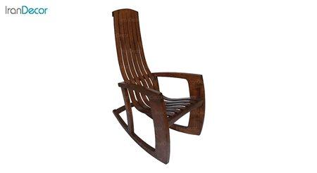 تصویر صندلی راک آمازون چوب مدل آلمانی