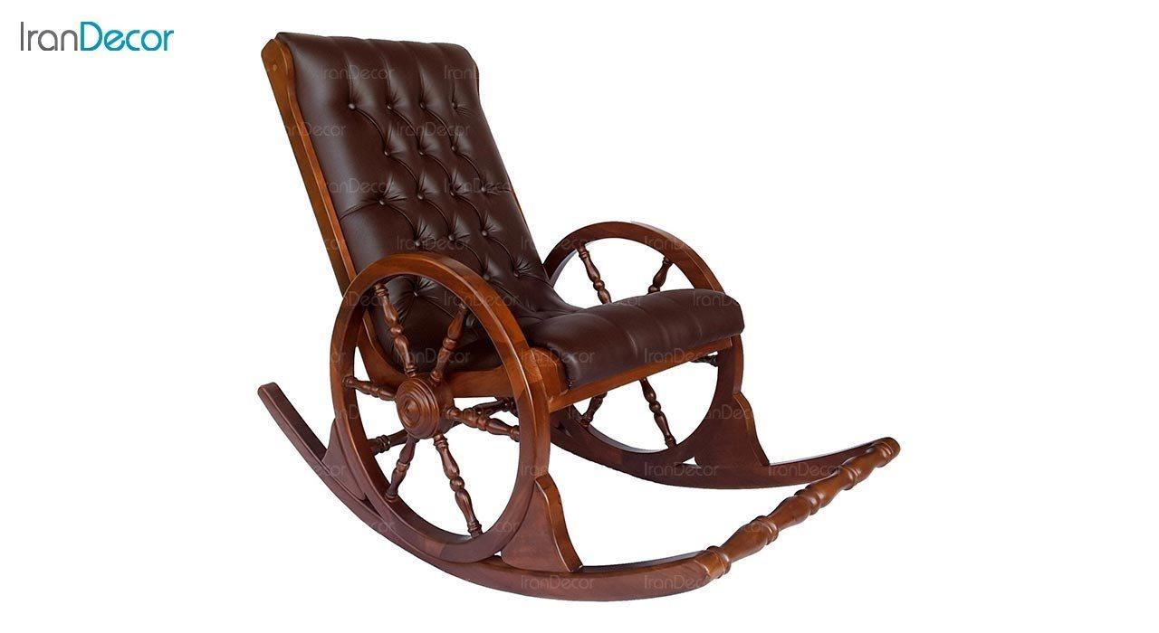 تصویر صندلی راک آمازون چوب مدل سکان