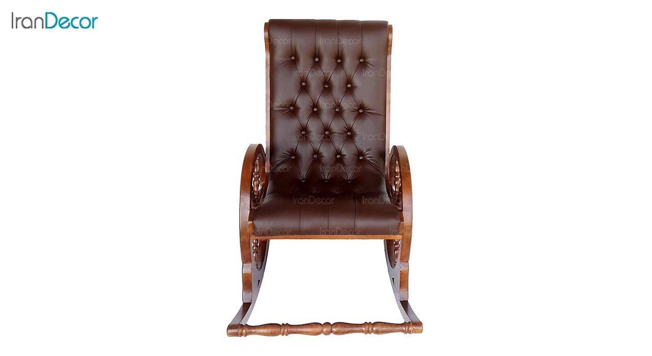 عکس صندلی راک آمازون چوب مدل سکان