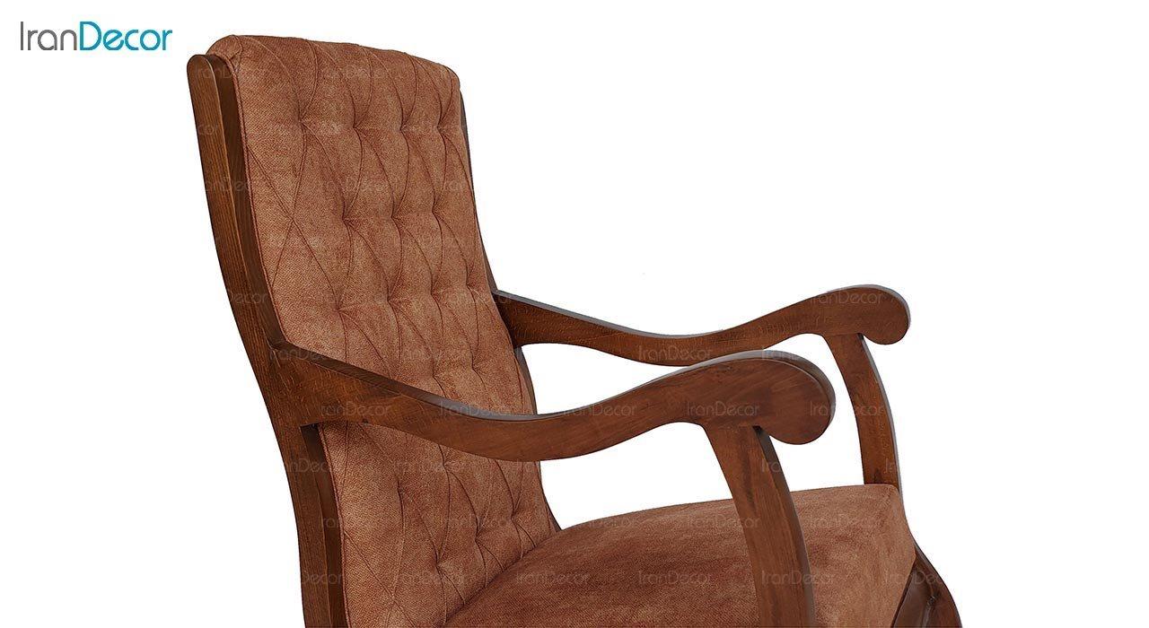 تصویر صندلی راک آمازون چوب مدل آمریکایی