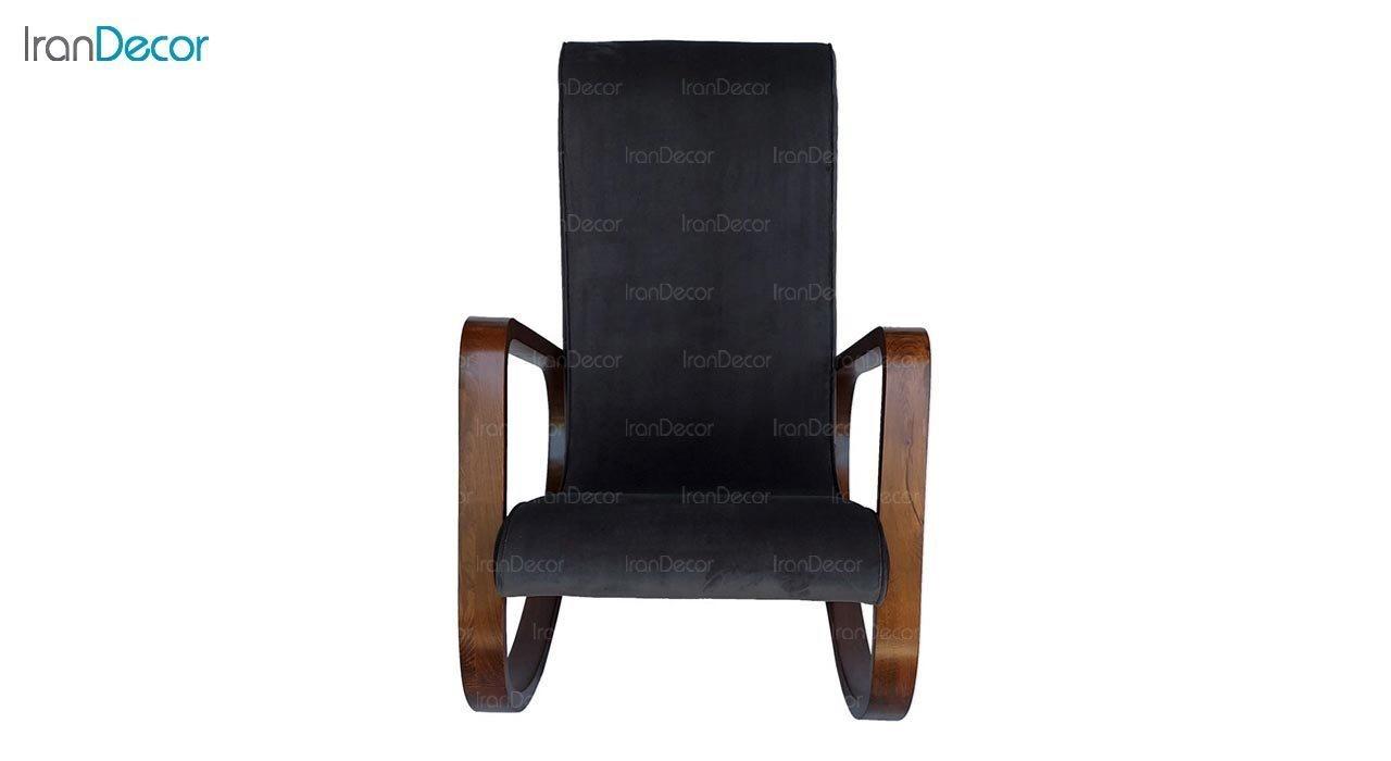 عکس صندلی راک آمازون چوب مدل کارن