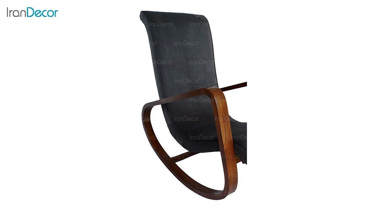 تصویر صندلی راک آمازون چوب مدل کارن