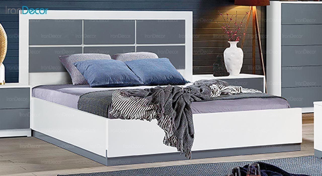 تصویر تخت خواب ماد مدل آروشا