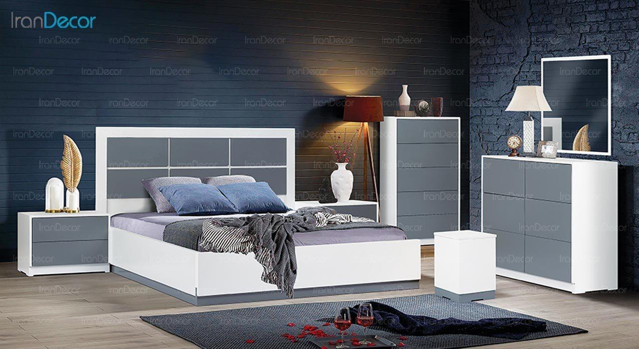 عکس تخت خواب ماد مدل آروشا