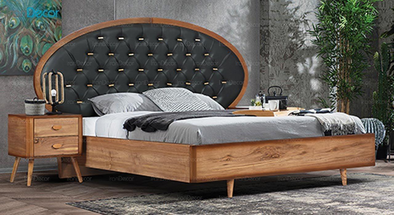 تصویر تخت خواب ماد مدل آکاژو