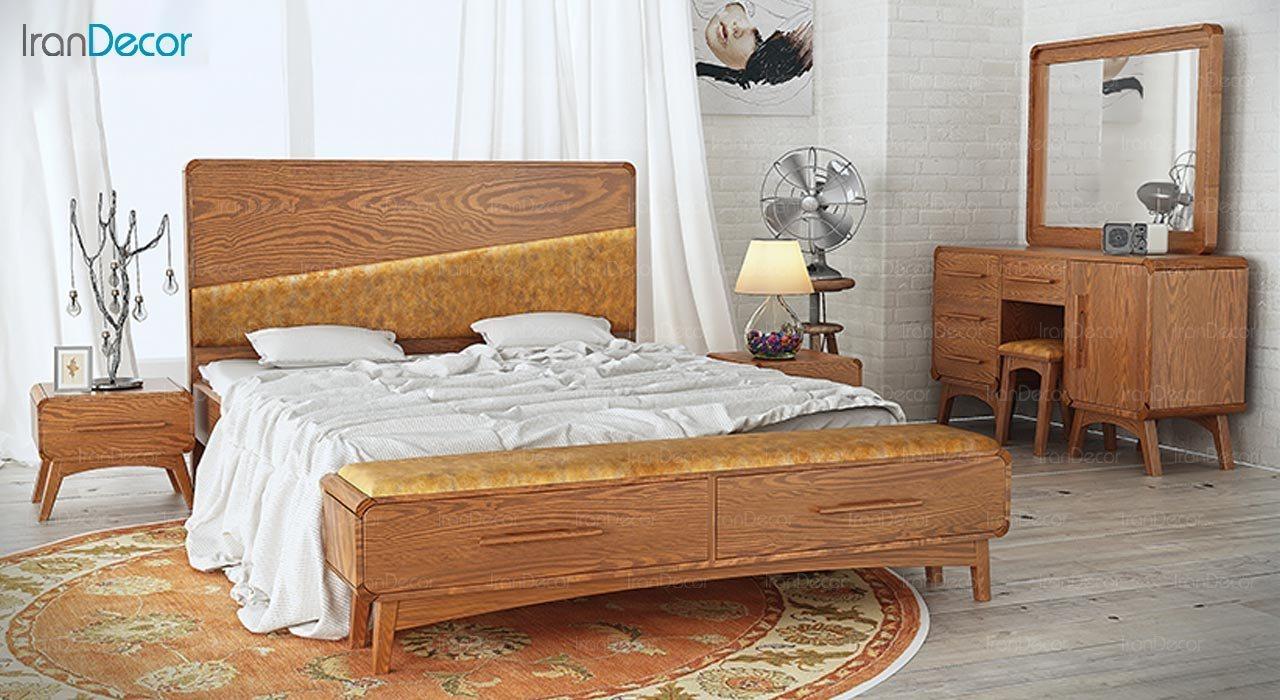 عکس تخت خواب ماد مدل تارا