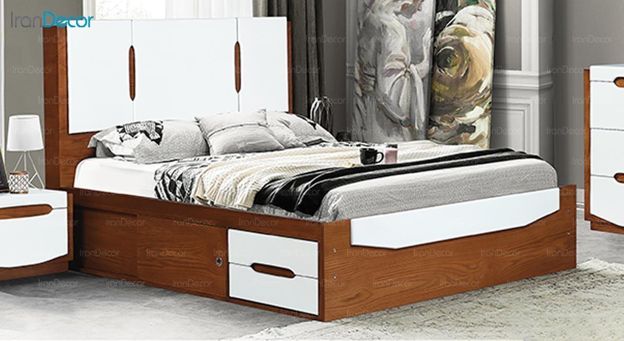 تصویر تخت خواب ماد مدل راشل