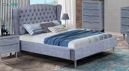 تصویر تخت خواب ماد مدل کاترین