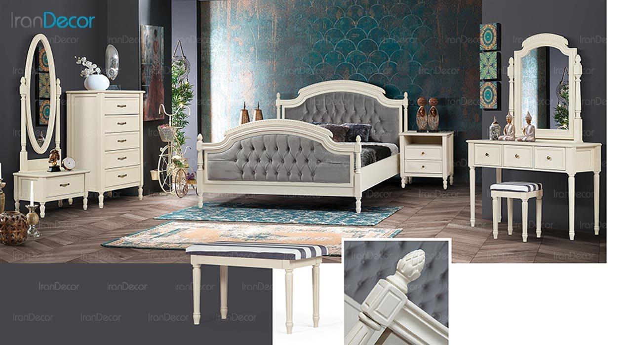 عکس تخت خواب ماد مدل رمانتیک