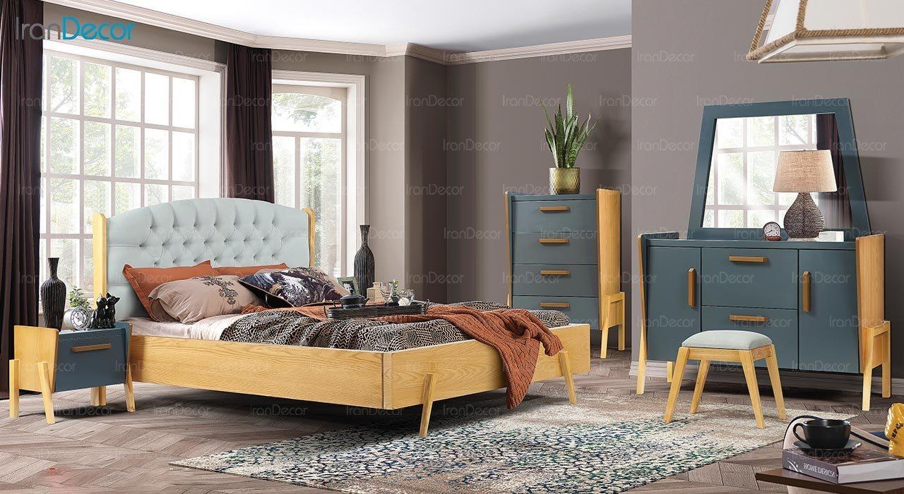 عکس تخت خواب ماد مدل نانسی