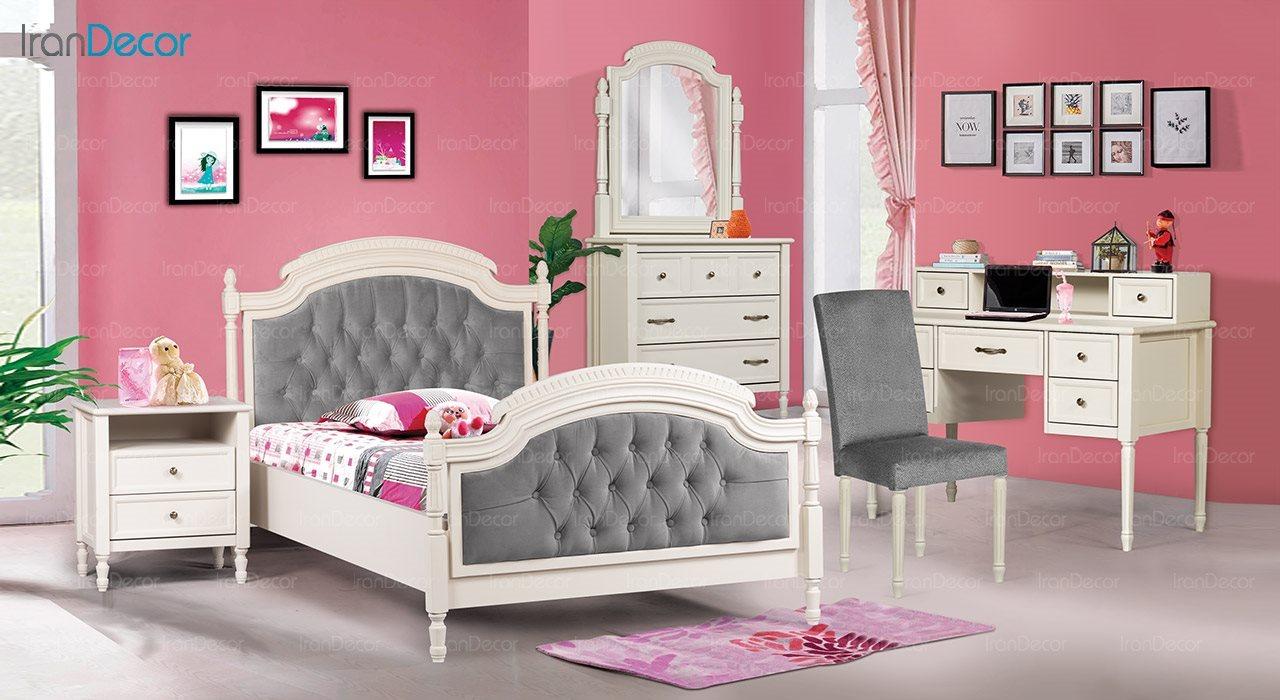 عکس تخت خواب نوجوان ماد مدل رمانتیک