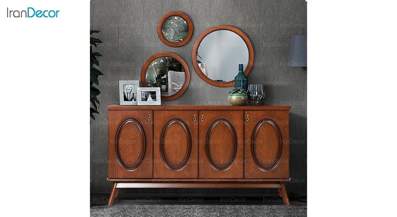 تصویر میز کنسول و آینه ماد مدل لیام