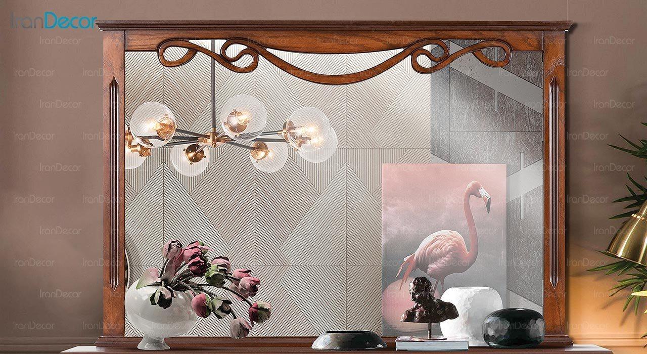 تصویر میز کنسول و آینه ماد مدل رایکا سه درب