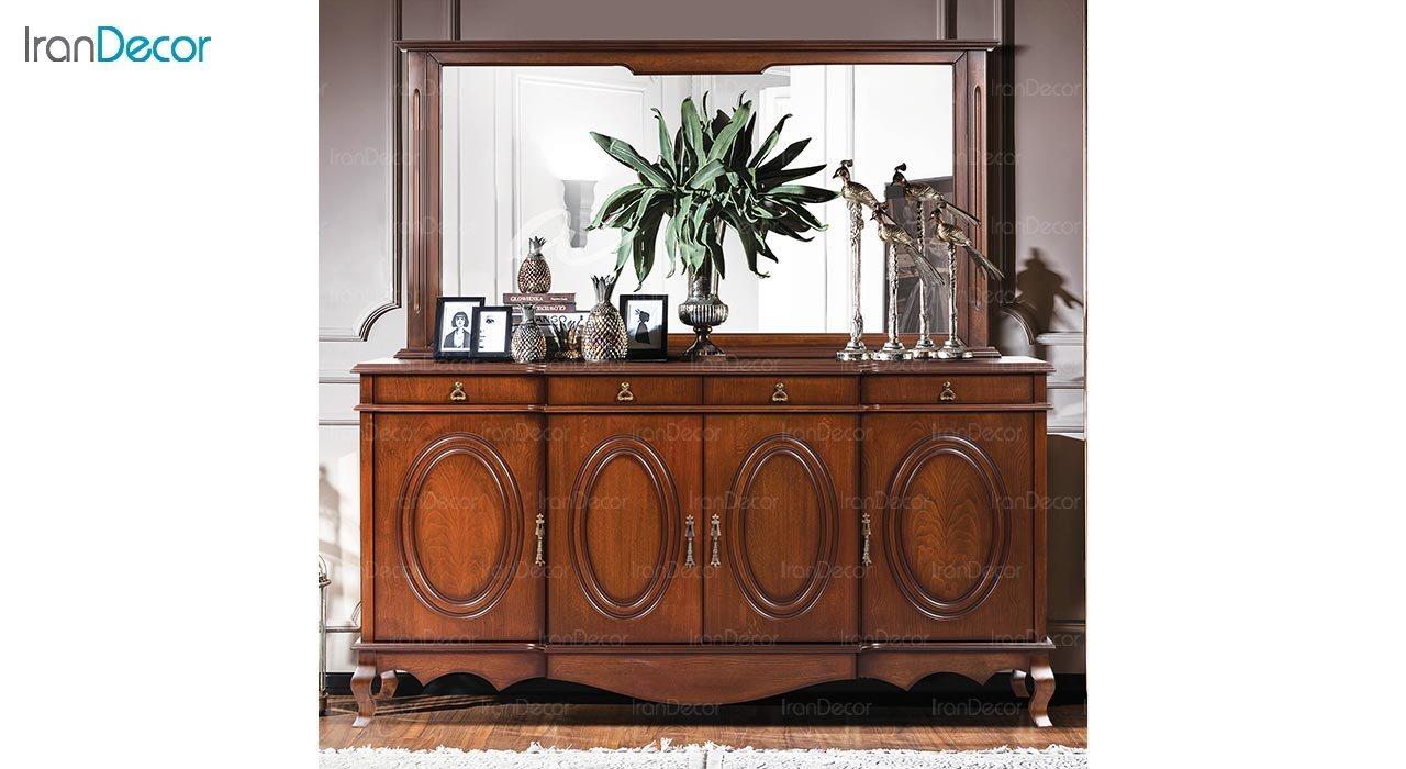 تصویر میز کنسول و آینه ماد مدل آرنیکا