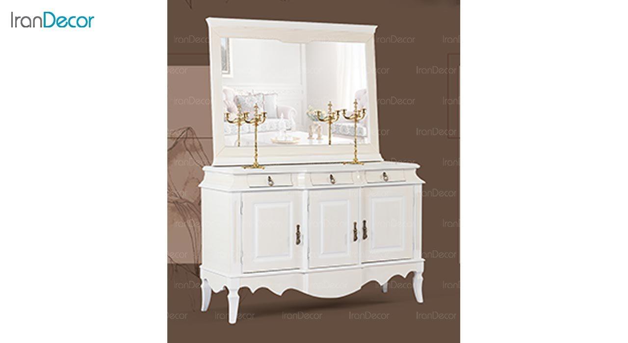 عکس میز کنسول و آینه ماد مدل آدرین سه درب