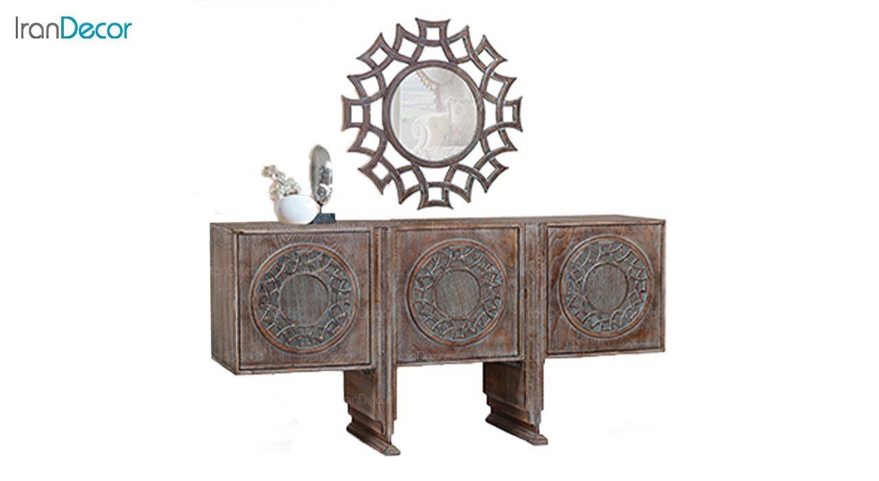میز کنسول و آینه ماد مدل وندا