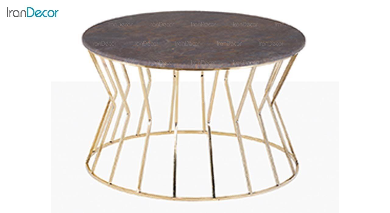تصویر میز جلو مبلی طرح سنگ ماد مدل ترزا