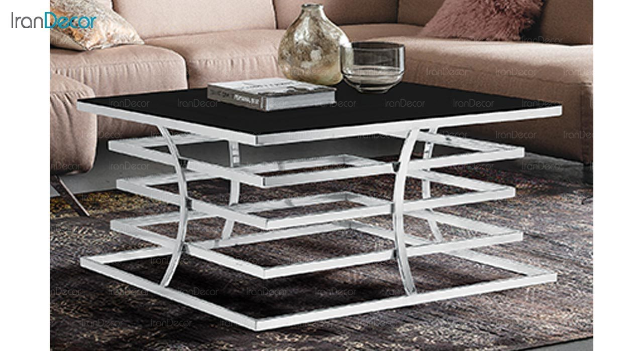 تصویر میز جلو مبلی طرح سنگ ماد مدل داکو