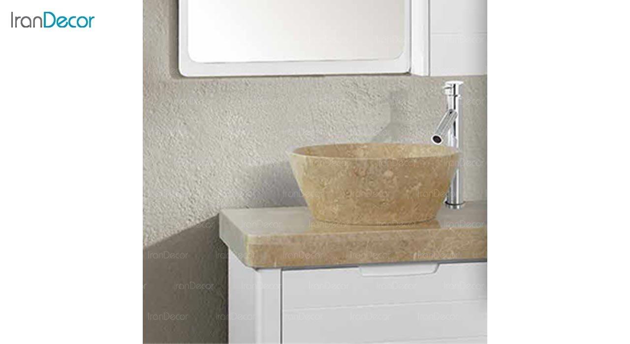 عکس ست روشویی دیواری کلاسیک مدل آمیتیس