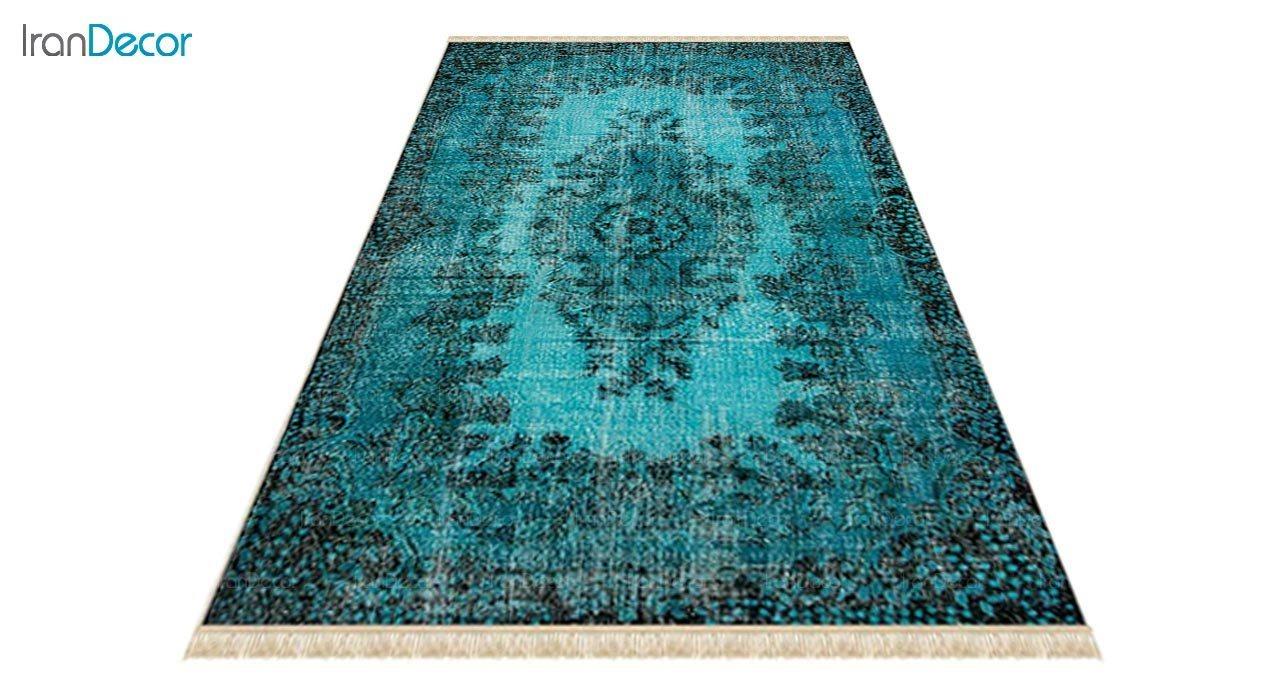 عکس فرش ماشینی کرامتیان طرح وینتیج مدل PT59203-01