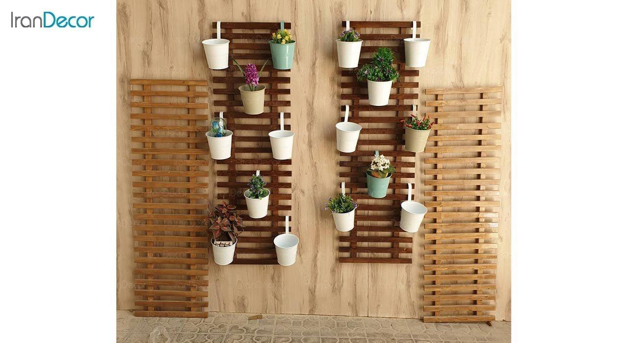 تصویر استند دیواری گل و گیاه مدل 202