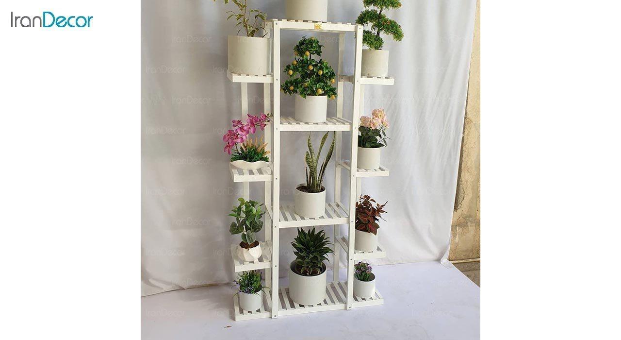 عکس استند گل و گیاه چوبی مدل W53