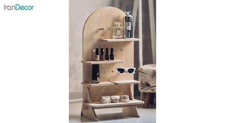 تصویر استند چوبی مدل پازلی