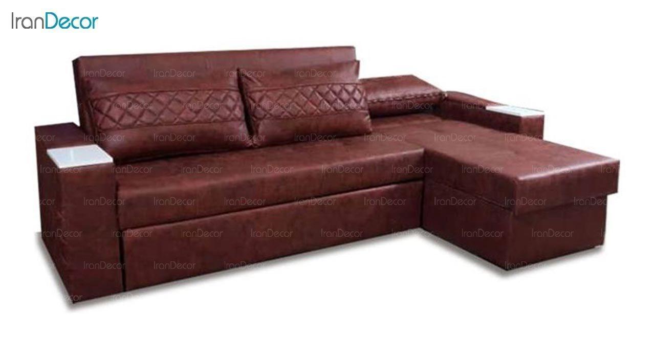تصویر مبل ال تخت خواب شو مدل لاویز