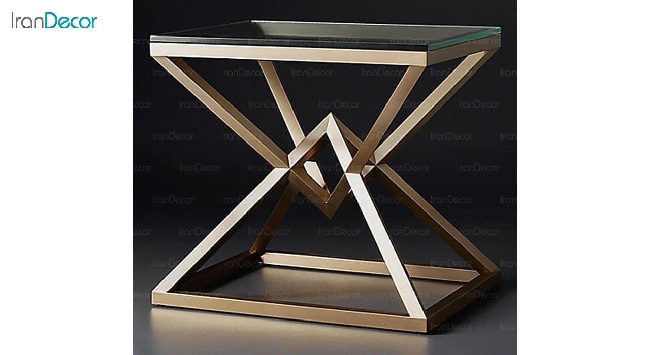 عکس میز عسلی ولنسی مدل دیاموند کد T262