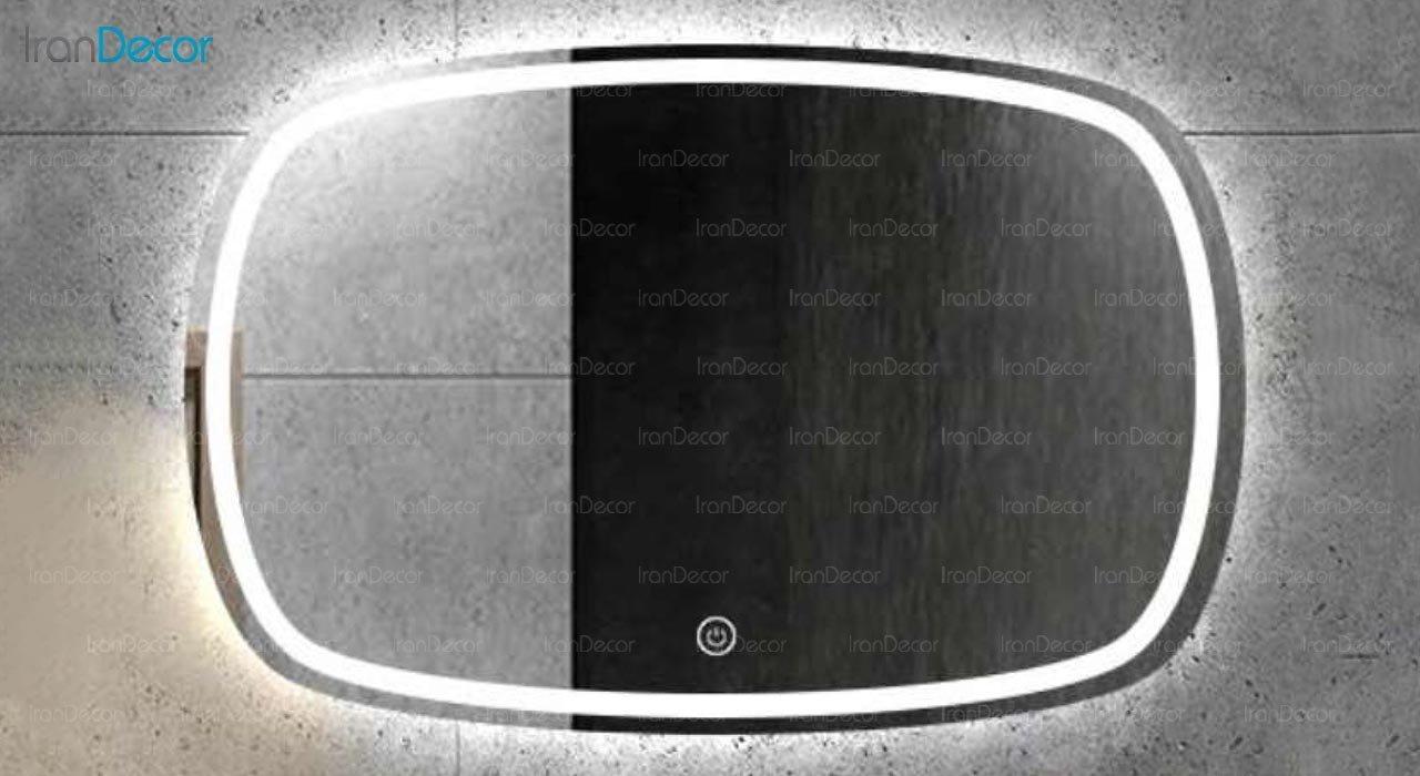 تصویر آینه هوشمند بک لایت مدل F-509