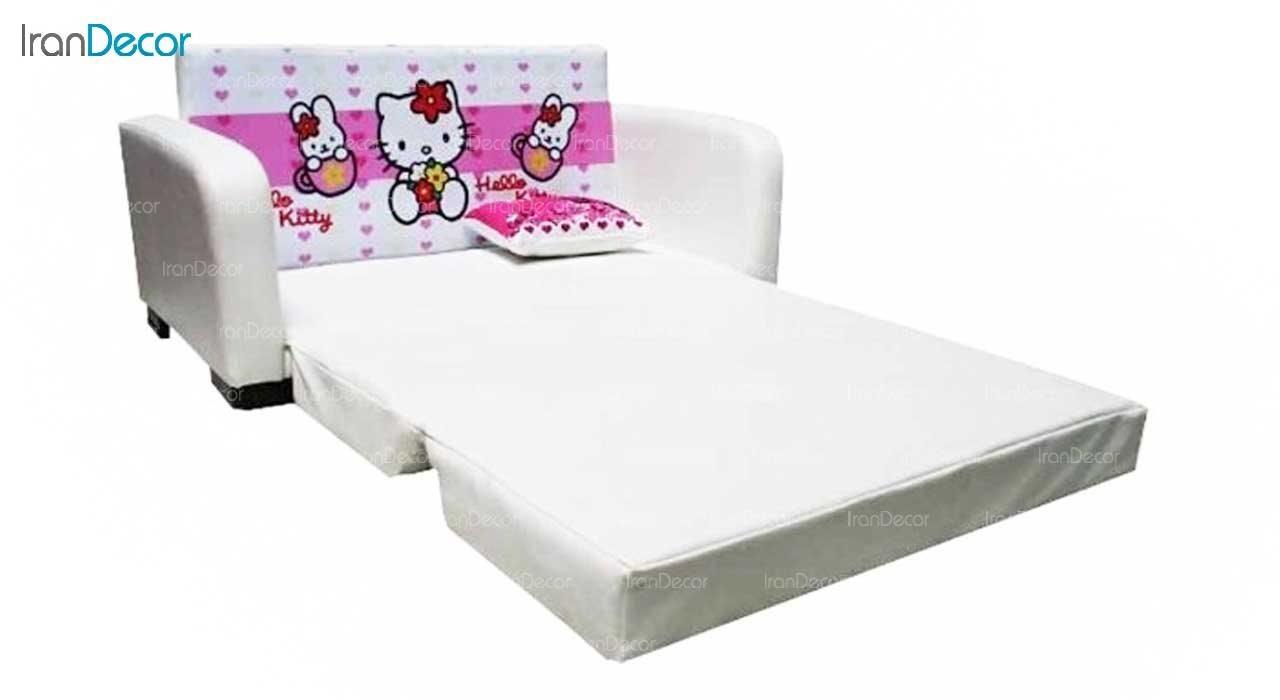 عکس مبل تختخواب شو کودک مدل کیتی حالت تخت