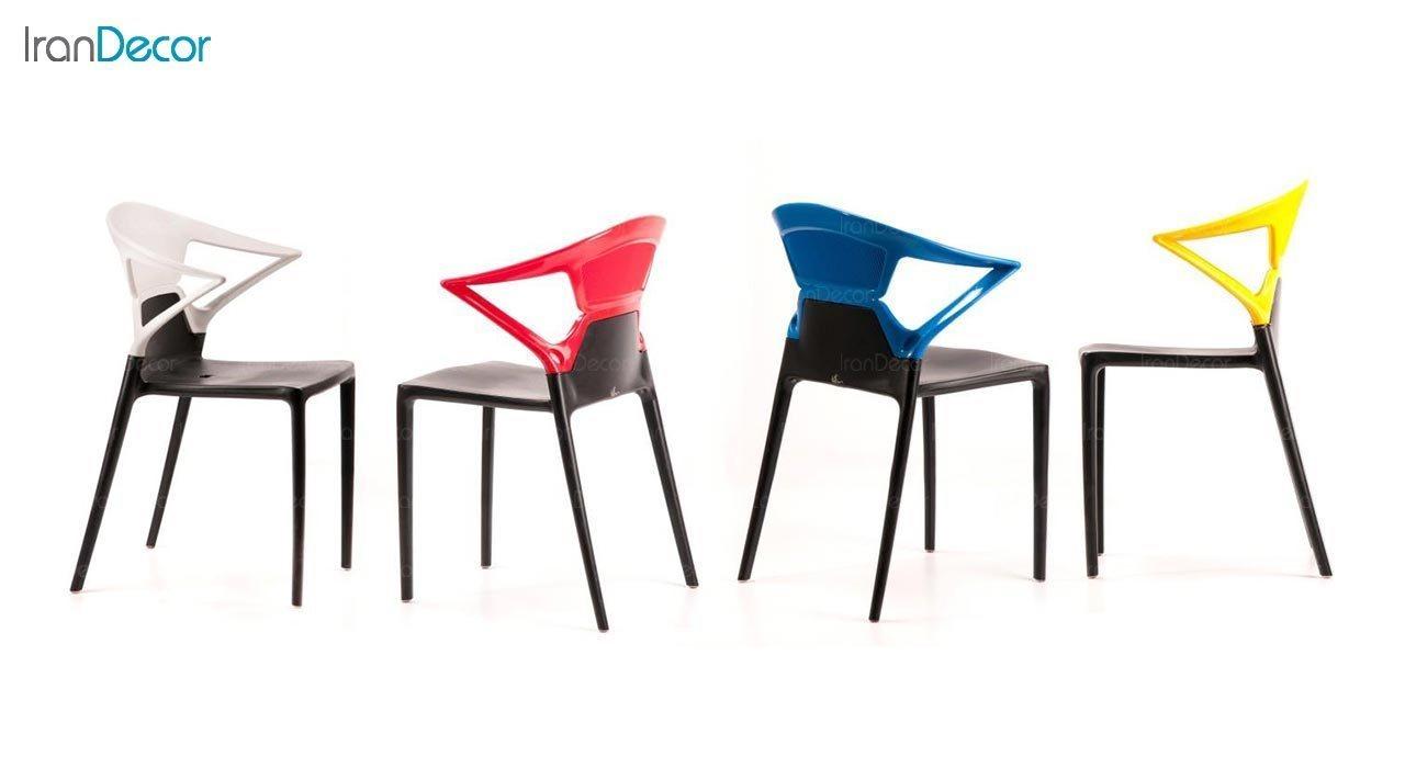 تصویر صندلی پلاستیکی مدل لونا