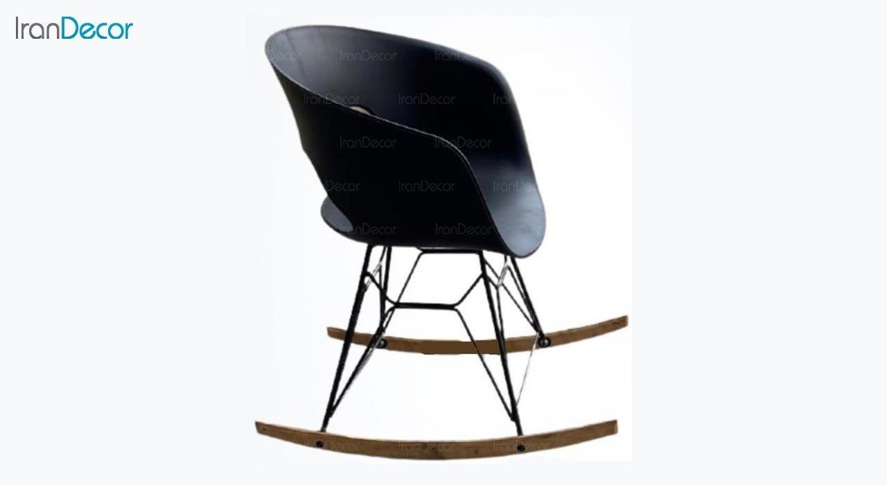 تصویر صندلی راک با پایه فلزی مدل گلوری