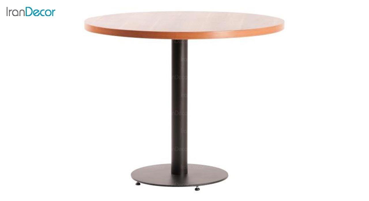 تصویر میز گرد پایه فلزی مدل S95