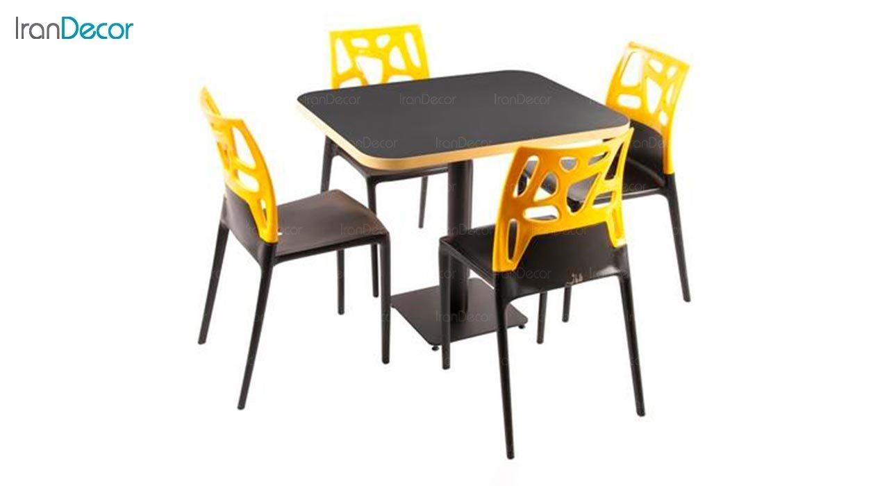 عکس سرویس میز مدل تابان و صندلی سورن