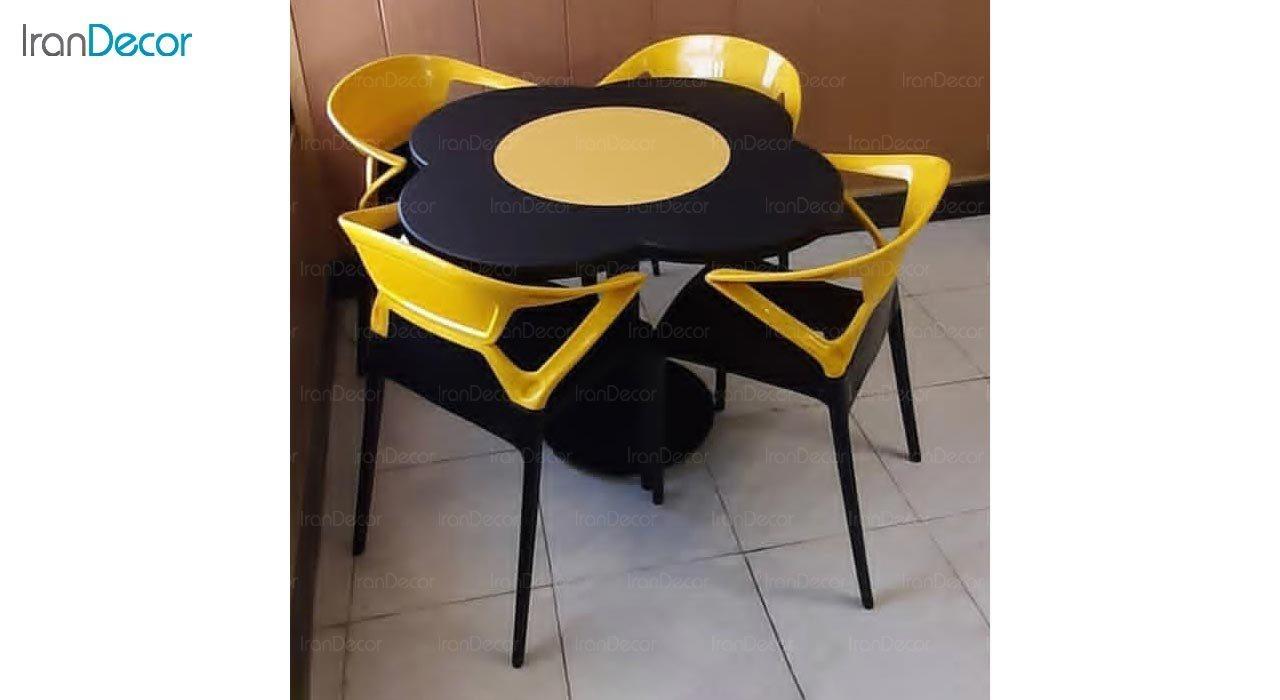 تصویر سرویس میز مدل بتا و صندلی لونا