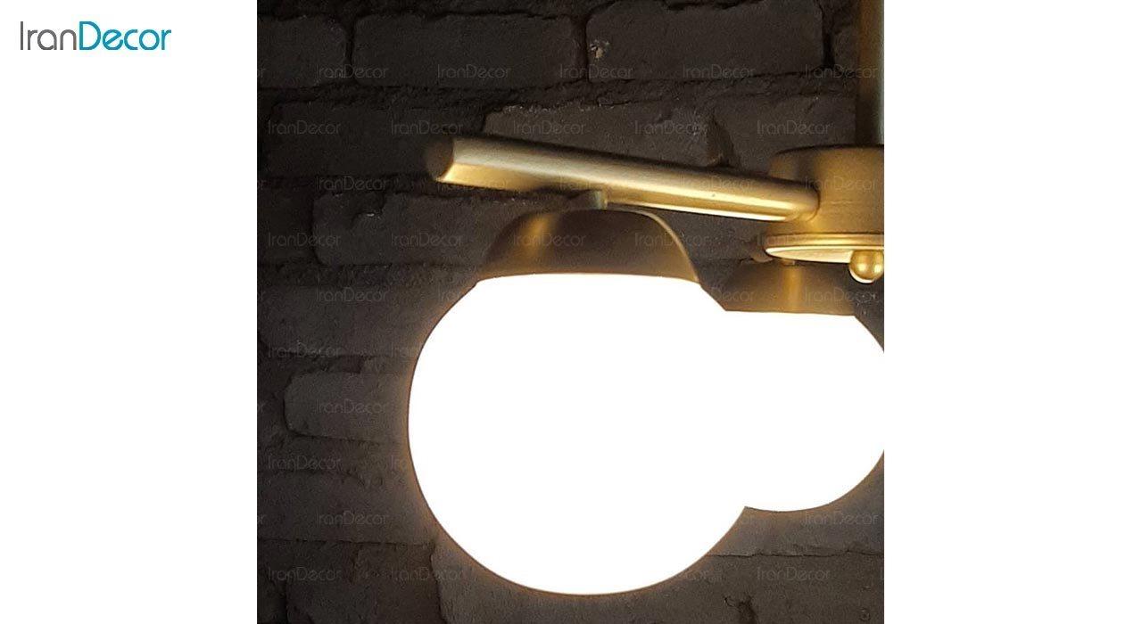 تصویر چراغ آویز خطی مدرن سه شعله مدل S273