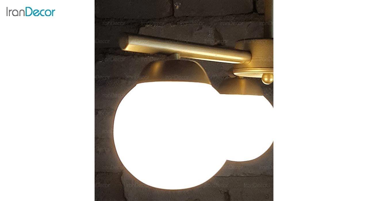 عکس چراغ آویز خطی مدرن چهار شعله مدل S274