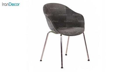 عکس صندلی پایه فلزی استیل هامون مدل کامفورت CT62