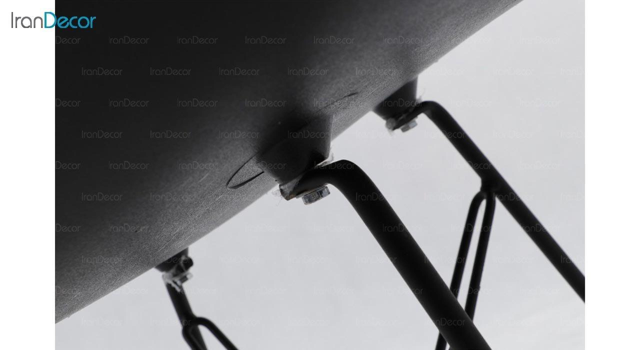 تصویر صندلی راک پایه درختی بنیزان مدل صدف کد S565S
