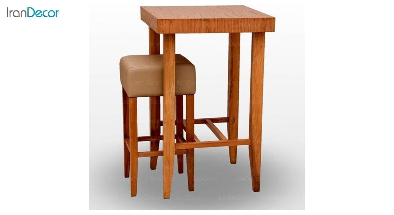 عکس صندلی اپن چوبی جهانتاب مدل پاکو کد 3221