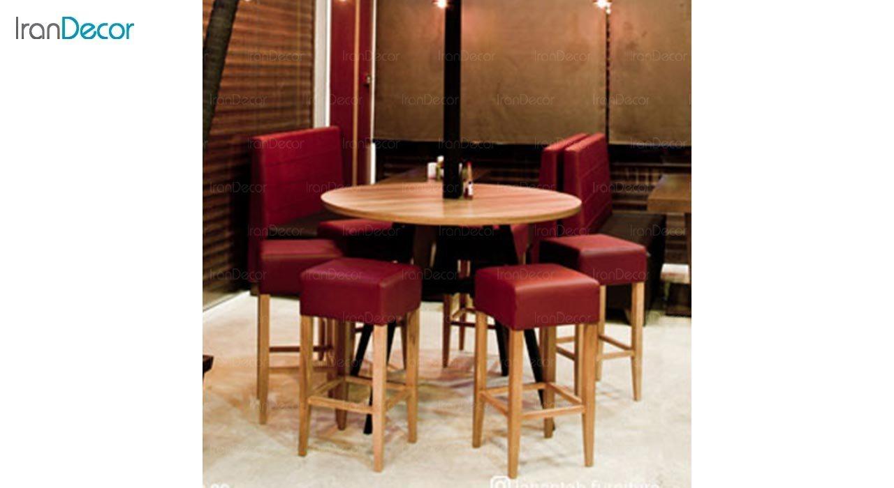 تصویر صندلی اپن چوبی جهانتاب مدل پاکو کد 3221
