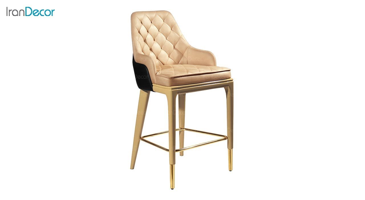 تصویر صندلی اپن چوبی جهانتاب مدل کریستال