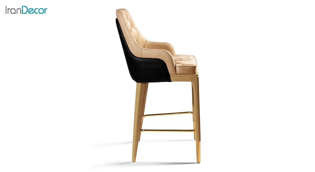 عکس صندلی اپن چوبی جهانتاب مدل کریستال
