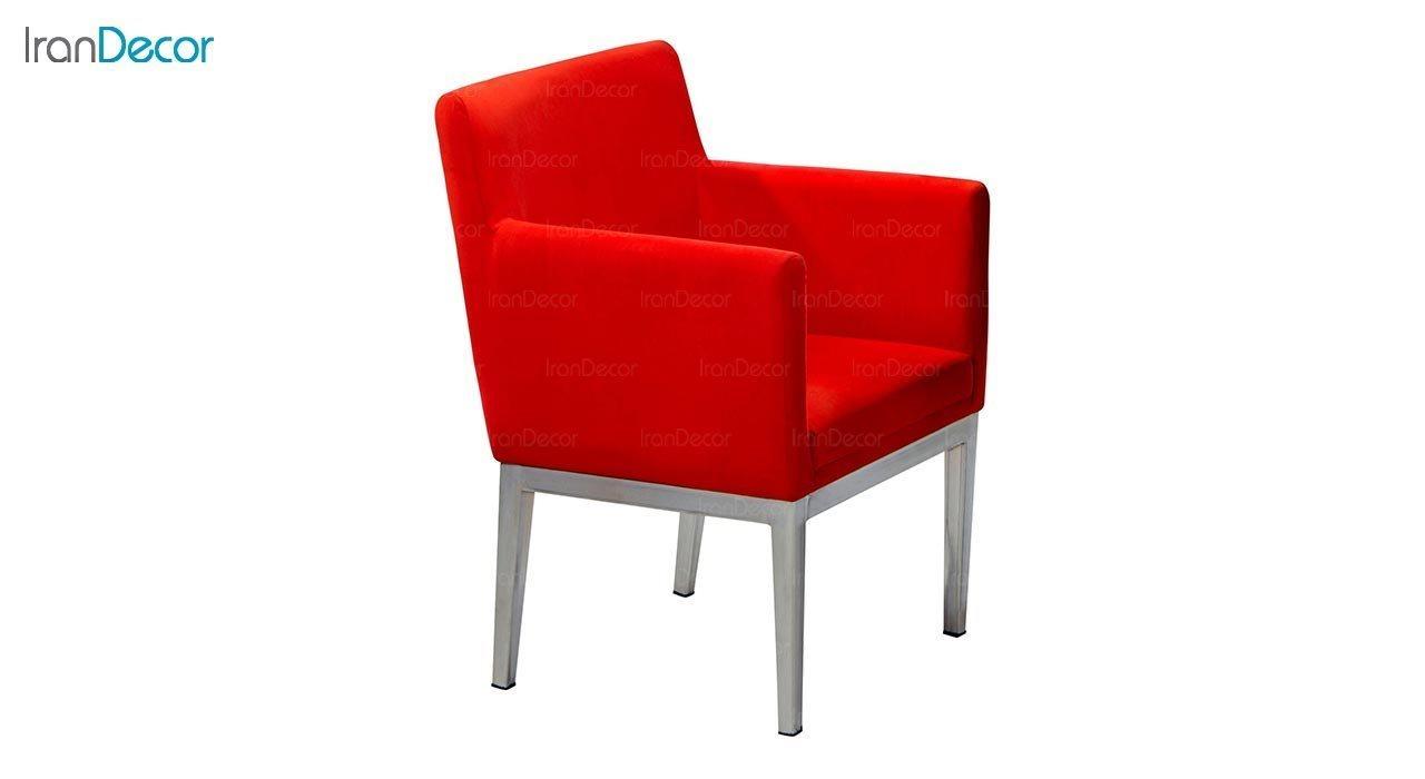 تصویر صندلی دسته دار پایه فلزی جهانتاب مدل پارکر کد 1241