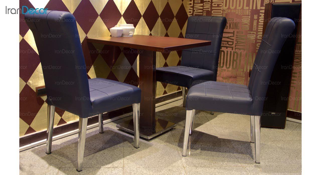 تصویر صندلی فلزی جهانتاب مدل گلوریا کد 1381
