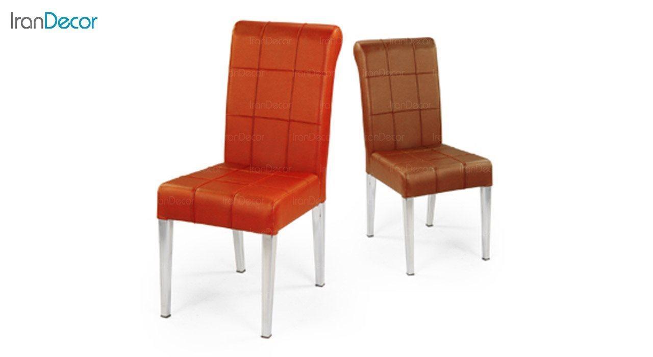 عکس صندلی فلزی جهانتاب مدل گلوریا کد 1381